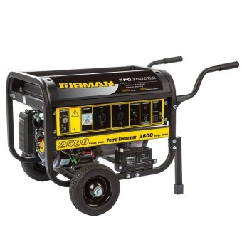 Firman FPG 3800E2 Gasoline Generator (Yellow/Black)