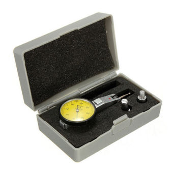 Flexible Magnetic Base Holder Stand + Scale Precision Dial Test Indicator Gauge - 4