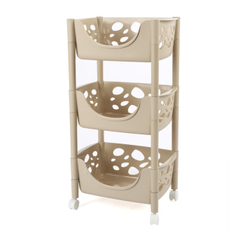 Floor storage kitchen with storage rack bathroom shelf