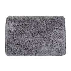 carpet rug. fluffy rugs anti-skid shaggy area rug dining carpet floor mat (gray)