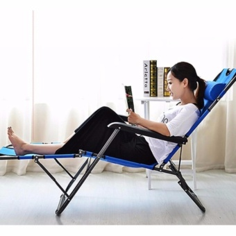 F.M.Z Portable 2 in 1 Beach Chair Sling Recliner Sleeping Lounge