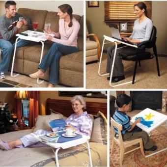 Foldable and Adjustable Multi-Purpose Table Mate 2