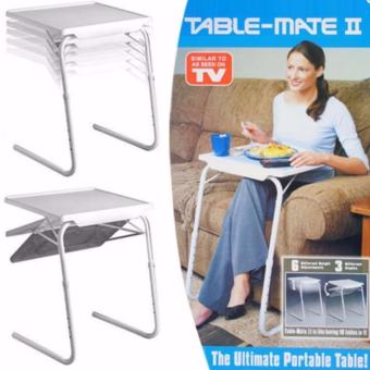 Foldable and Adjustable Multi-Purpose Table Mate 2 (White)