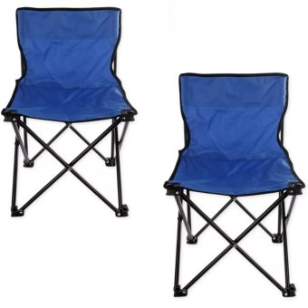 Foldable Chair Small (Royal Blue) Set Of 2 Price Philippines