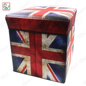 Best Foldable Ottoman UK Flag Storage Box Storage Chair Box Model Numbers  sc 1 st  Harga Terkini Pasar Online Philipina August 2018 & Where To Buy Foldable Ottoman Uk Flag Storage Box Storage Chair Box ...