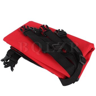 Foldable Pet Dog Cat Car Rear-seat Cover Red - picture 2