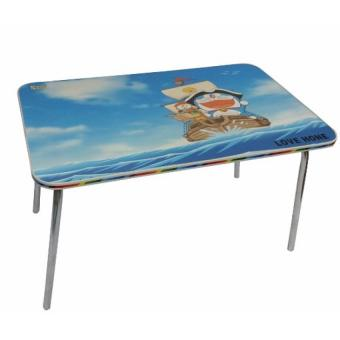 Folding Kids Play Table,Study Table and Game Table (Blue)