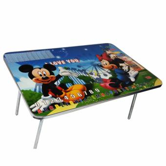 Folding Kids Play Table,Study Table Or Game Table (Blue)