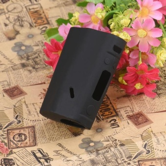 For Wismec Reuleaux RX200 TC Box Silicone Case Cover Sleeve PouchProtector BK - intl - 4