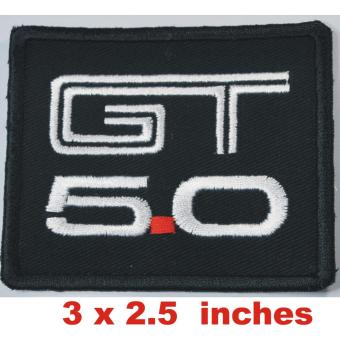 Ford Mustang GT 500 5.0 Cloth Embroidered Cloth patch - 2