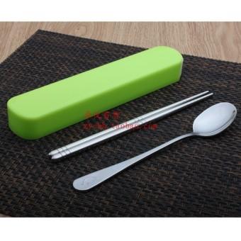 Fork travel student environmentally friendly portable cutlery box spoon