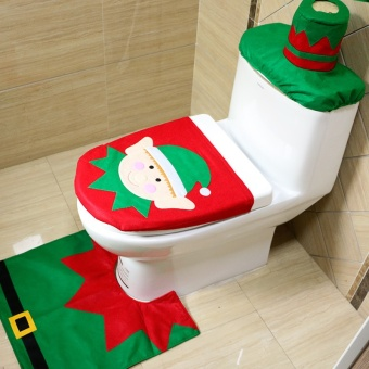 FP Christmas decorations, Christmas supplies, Christmas fairies,toilet covers - intl Price Philippines