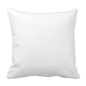 Free Suede Nap One Side Printing Pillow Case Cover(Blue) - picture 2