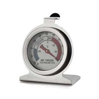 Fridge Freezer Kitchen Thermometer Stainless Steel Dial forRefrigerator