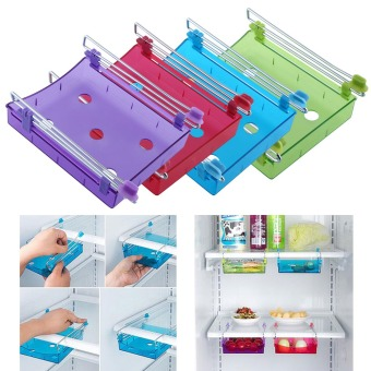 Fridge Storage Shelf Freezer Refrigerator Rack Holder Versatile Organizer