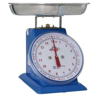 Fuji FTS-15 15kg Mechanical Table Scale with Small Pan (Blue)