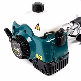 Fujihama MK411 Grass Cutter 2 Stroke Heavy Duty with Free NylonCutter and Blade (Multicolor)