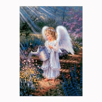 Full Drilled Diy Diamond Painting Cross Stitch Square Diamond Embroid Diy 5D Painting J - intl