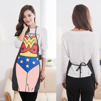 Funny Cooking Kitchen Apron Sexy Dinner Party Apron Wonder Woman - 2