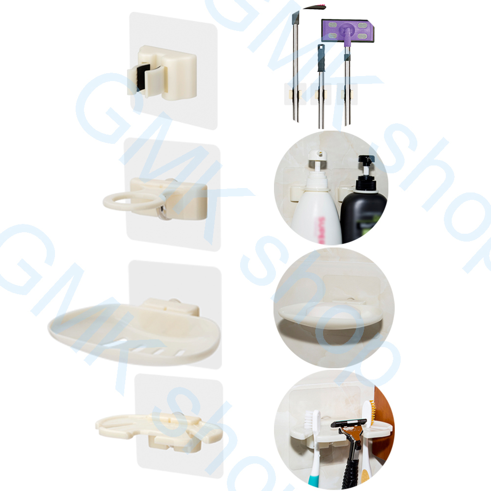 Philippines | GAKTAI 10Pcs/set Bathroom Kitchen Accessories Plastic ...