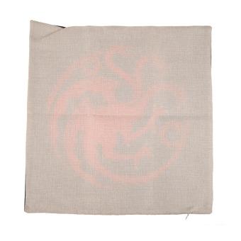 Game of Thrones House Sigils Family Crest Pillow case (Targaryen) - 2