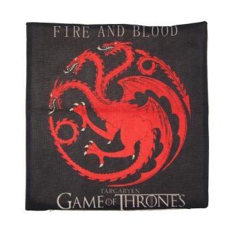 Game of Thrones House Sigils Family Crest Pillow case (Targaryen) - 4