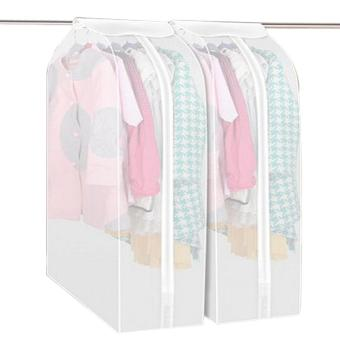 Garment Suit Coat Dust Cover Protector Wardrobe Storage Bag L