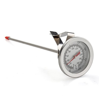 Gauge Bbq Probe Thermometer Stainless Steel Food Cooking Oven