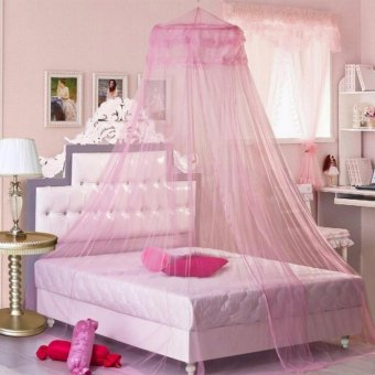 G@Best Mosquito Net Bed Canopy King/Queen Size (Pink)