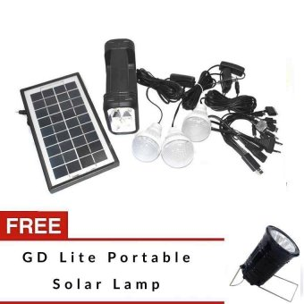 GD Lite Solar Emergency Lighting Kit with FREE Solar Lamp Price Philippines
