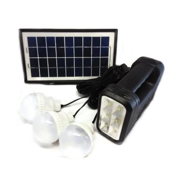GDLITE GD-8017A Solar Lighting System (Black) Price Philippines