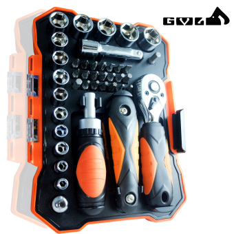 Gear Power 41 Pcs Multi Handle Driver and Precision Bits &Socket w/ set of Allen Wrenches - 2