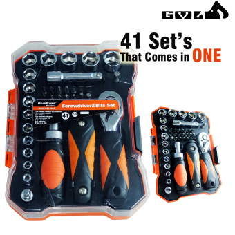 Gear Power 41 Pcs Multi Handle Driver and Precision Bits &Socket w/ set of Allen Wrenches
