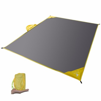 GEERTOP 2 - 4 Person Waterproof Multi-functional Rain PonchoBackpack Cover Picnic Mat Tent Footprint Tarp For Camping - intl