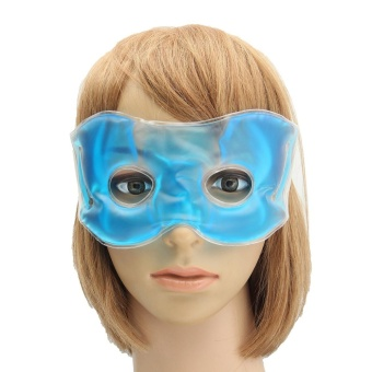 Gel Eye Mask Cold Pack Warm Hot Heat Ice Cool Soothing Tired Eyes Headache Pads - intl