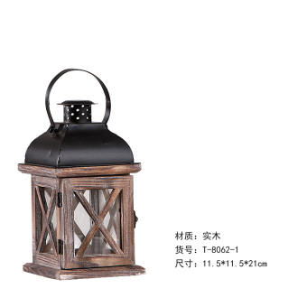 Gentle Times country American wooden decorative ornaments candlestick lantern