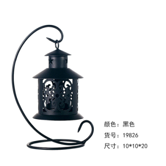 Gentle Times Wrought Iron Lantern candle holder
