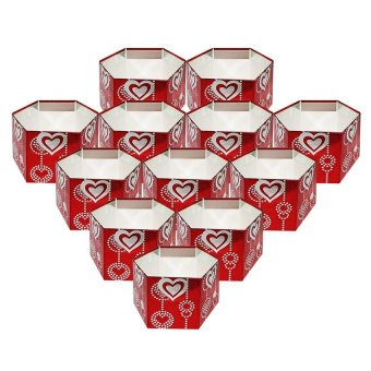Gift Box Set of 12 (Red)