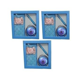 Gift Set- Set of 3 (Blue)
