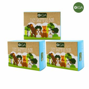 Giga Dog Shampoo Bar 100g, Set of 3