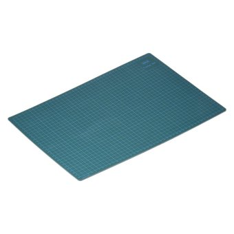 GKS PVC A3 Cutting Mat Manual DIY Tool Cutting Board Double-sidedSelf-healing Cutting Pad 5cm and 1cm Grids Patchwork Tools 30cm *45cm * 3mm Green - intl - 4