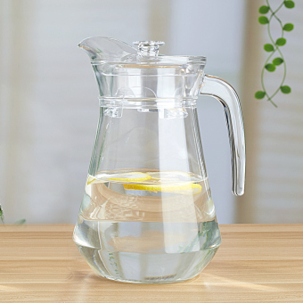Glass heat-resistant cold water cup cold water pot