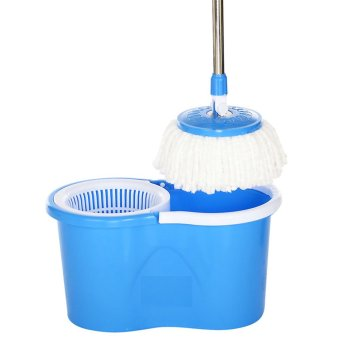 GMY 360 Degree Spin Mop and Spin Dry Bucket (Blue) - 3