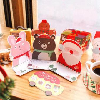 GMZ Christmas dimensional greeting cards