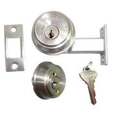 Goal ADP6 Dull Stainless Double Deadlock (Stainless dull) Philippines