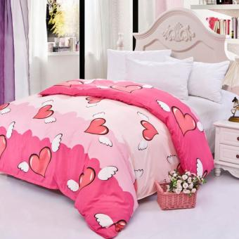 GoGoLife High Quality Duvet/Quilt Cover All Size-26# Pink Heart