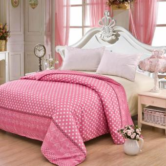GoGoLife High Quality Duvet/Quilt Cover All Size-39# Pink Point