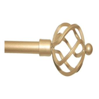 Gold Brush Extendable Curtain Rod Price Philippines