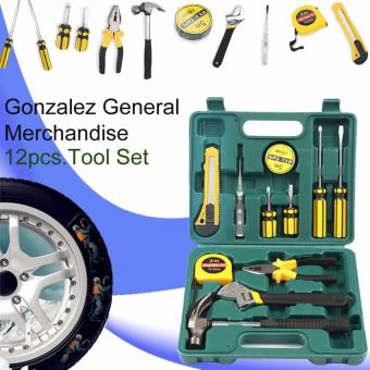 Gonzalez 12 Pieces Home Package Repair And Maintenance Tool Set