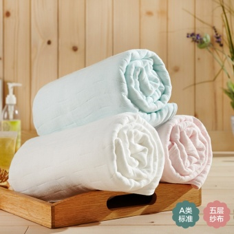 Good gauze new knowledge spring and summer class bath towel blanket
